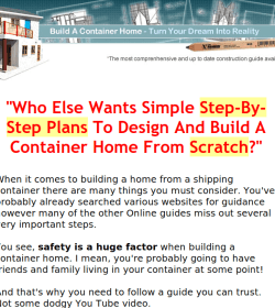 Build a Container Home Review