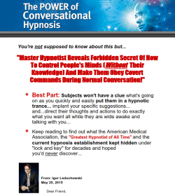 Power of Conversational Hypnosis Review