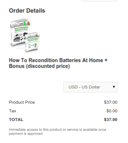 EZ Battery Conditioning Discount