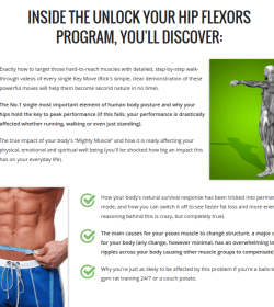 unlock hip flexors.review