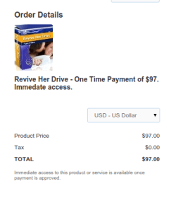 Revive Her Drive Discount