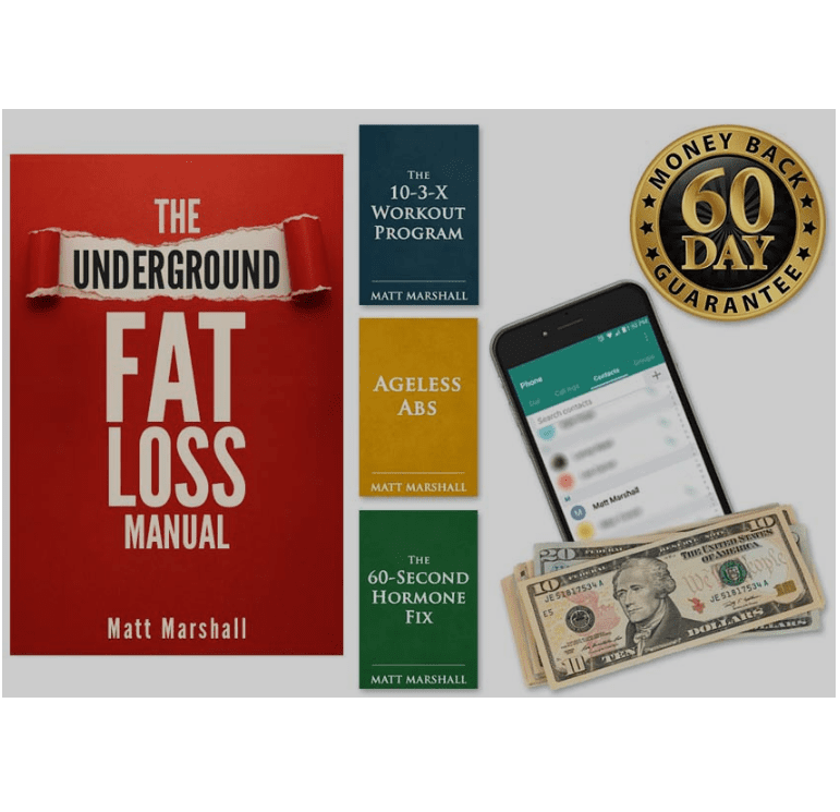 Underground Fat Loss Manual™ – 50% Off!