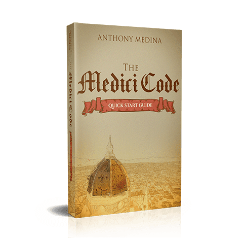 The Medici Code Discount: 35% OFF | By Anthony Medina